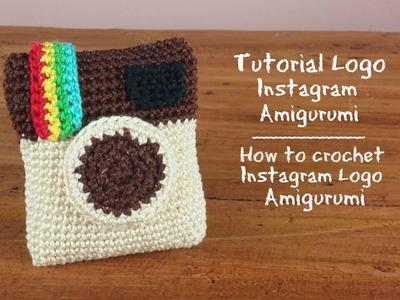 "Logo ""Instagram"" Amigurumi   How to crochet ""instagram"" logo Amigurumi (Double Creation)"