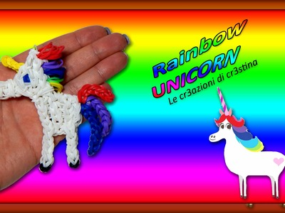 Unicorno Arcobaleno | My Little Pony | Cavallo con Elastici RAINBOW LOOM Tutorial
