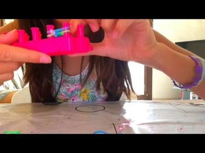 Tutorial come fare i braccialetti con gli elastici e il telaio
