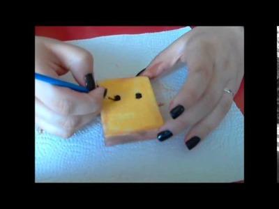 DIY: Squishy Toast :3 | Jess.
