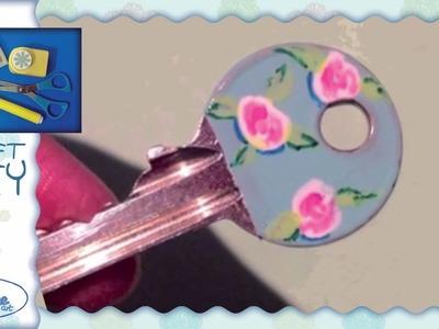 Tutorial ☆ Decorazione chiavi ☆ [key decoration]