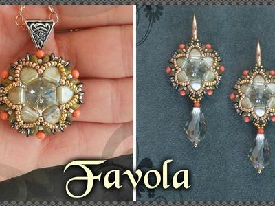 Tutorial modulo * FAVOLA * per Anello Orecchini Ciondolo - Incastonatura rivoli con Tile DIY