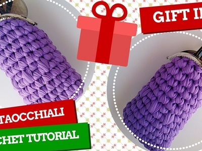 TutorialXMAS #3 | Portaocchiali uncinetto | Glasses case crochet | Katy Handmade