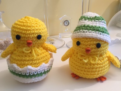 Pulcino Amigurumi (tutorial-schema). how to crochet a chick Amigurumi