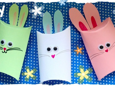 Tutorial: Scatoline Coniglietto Pasquali | DIY Easter Rabbit Gift Box