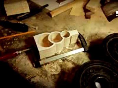 DIY antico segno di legno greca | scatola pupazzo di sega a nastro | Giocattoli per bambini