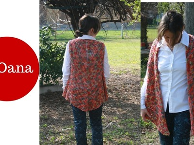 Gilet all'uncinetto