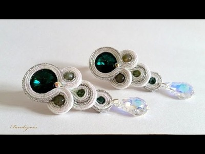 Tutorial soutache  . Orecchini