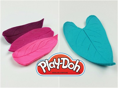 TUTORIAL: SVUOTATASCHE con PLAY-DOH e FOGLIE (collab. Hasbro)