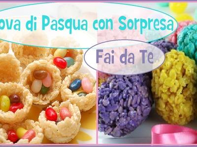 Uova di Pasqua Fai da Te - ft Fairy Fashion Art - diy easter egg