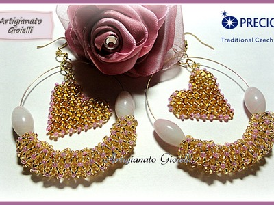 Beadwork for Preciosa contest with love January 2015