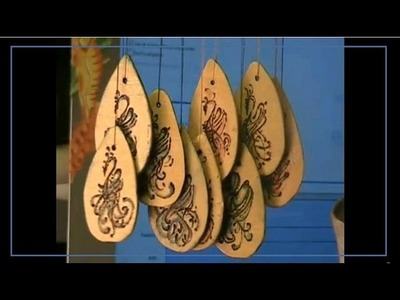 Decorazione ''fenice'' sul legno con Pirografo: creatività per le piccole cose!