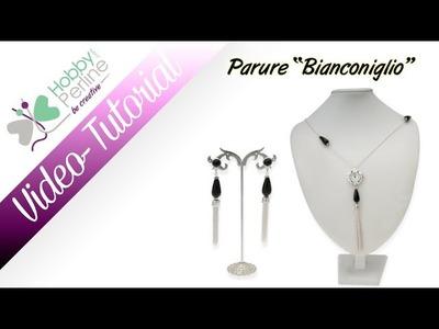Parure Bianconiglio | TUTORIAL - HobbyPerline.com