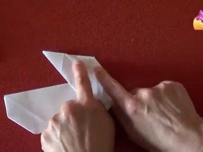 Realizzare un cestino di carta a forma di coniglio [HD] www.mammaebambini.it