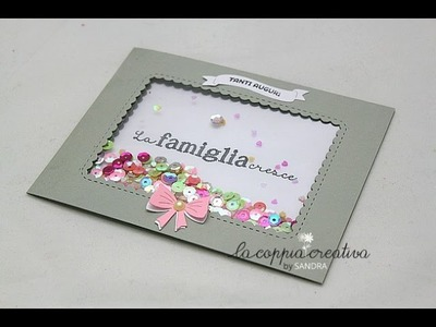 Shaker Card Tutorial con Photo Sleeve Fuse Tool