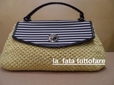 Tutorial: borsa in cordino con patella