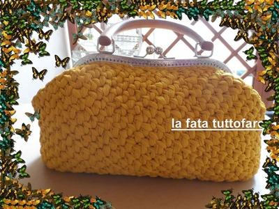 Tutorial: borsa in tulle con clic.clac