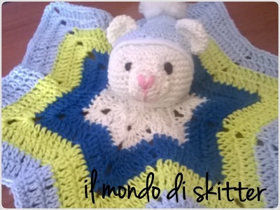 "Tutorial  ""orsetto in amigurumi""  ( parte 1:come realizzare la testa)"