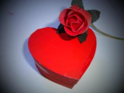 Tutorial: Scatola cuore San Valentino 2 ♥