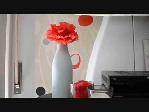 Bottiglia - barattolo stile shabby chic DIY shabby chic style jar