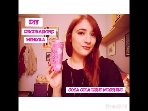 DIY: Coca-cola light by MOSCHINO! Come riciclarlo ?!