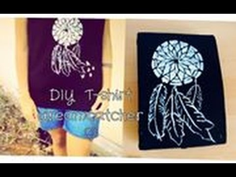 DIY: T-shirt Dreamcatcher ♡