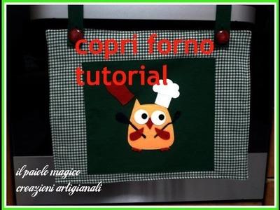 Copri forno tutorial