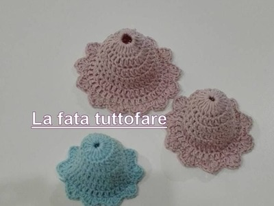 Tutorial: campanelle all'uncinetto