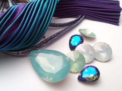 Cosa ho acquistato a Creattiva Bergamo?  seta Shibori,cristalli e tagliabiscotti