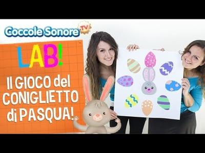 Costruiamo il gioco del Coniglietto di Pasqua - Impariamo i colori - Coccole Sonore Lab
