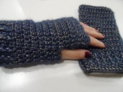 Tutorial: manicotti o guanti senza dita
