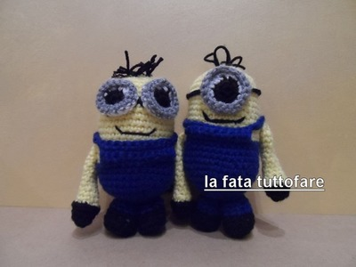 Tutorial: minion amigurumi