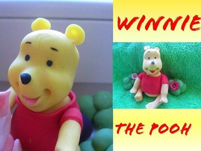 Winnie The Pooh tutorial pasta di zucchero. Le Torte di Marta