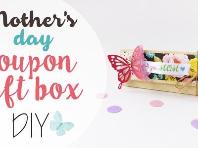 Tuto: Scatola coupon festa della mamma - Coupon gift box mother's day diy