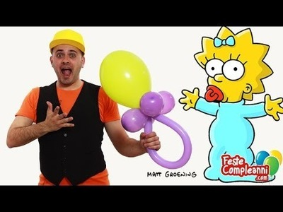 Baby Shower Balloon - Decorazioni per Battesimo - Tutorial 94 - Feste Compleanni