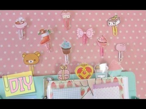 DIY Paper Pins Graffette Kawaii, senza plastificatrice :) | ErikaKawaii
