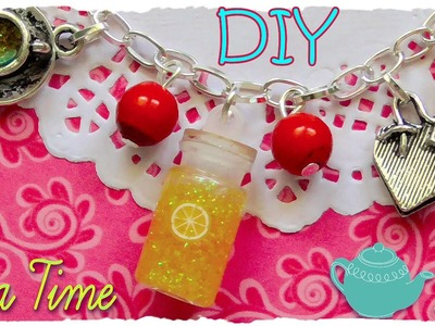 "Tutorial: Bracciale ""Tea Time"" con boccetta in vetro 