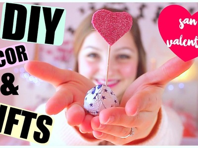 San Valentino LAST MINUTE  DIYS ROOM DECOR & GIFT IDEAS ! || Gemminamakeup