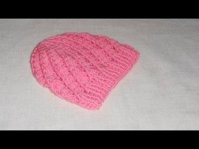Uncinetto Crochet Cappellino