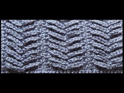 Crochet : Punto Espiga