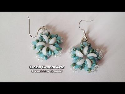 DIY - Orecchini Girandola - piggy beads