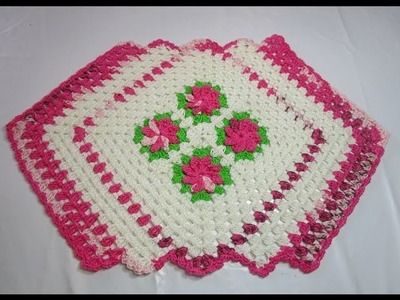 Uncinetto Crochet Tutorial Centro Tavola curto