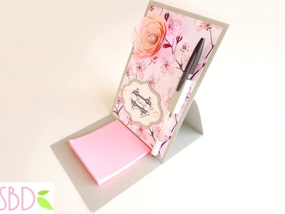 Scrapbooking: Porta Post-it - Post-it Holder