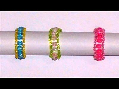 Un mondo di perline - anelli - fedine