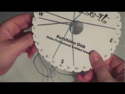Tutorial: Kumihimo - cordoncino quadrato