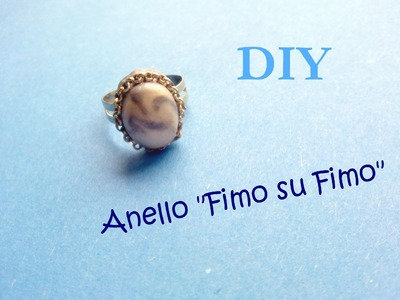 "Anello ""Fimo su Fimo"" ¤ ""Fimo on Fimo"" Ring - Polymer Clay Tutorial"