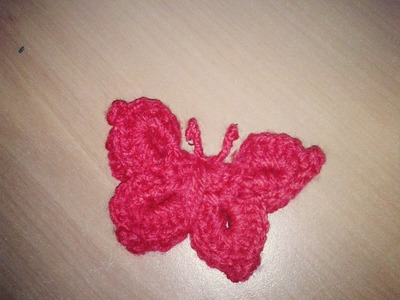 Farfalla all'Uncinetto ( butterfly crochet )