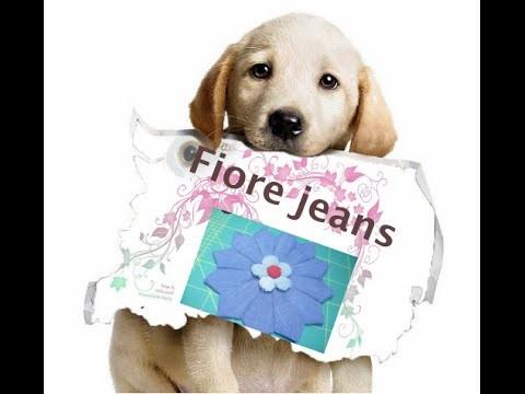 Reciclo: DIY fiore di jeans