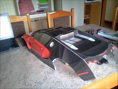 Bugatti papercraft.wmv