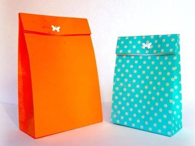 DIY sacchetti di carta - paper bag